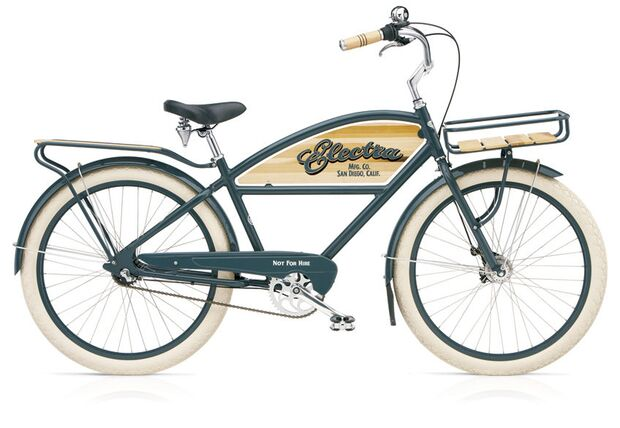 UB Cruiser Electra Delivery 3i Chicago Grey Men's