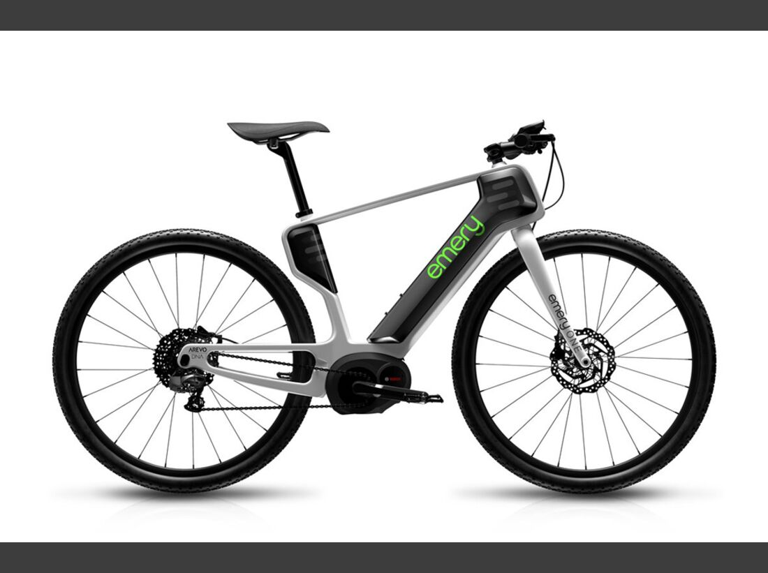 UB Emery One E-Bike 3D-Druck